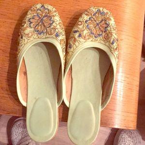 Handmade shoes from Panama